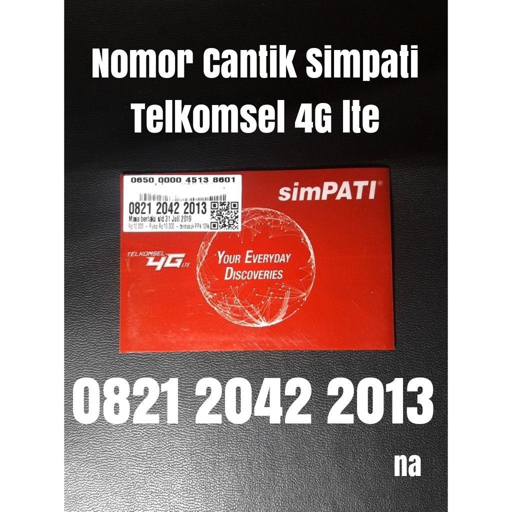 Nomer cantik simpati Telkomsel 4G nomor kartu perdana seri tahun 2013 | Shopee Indonesia