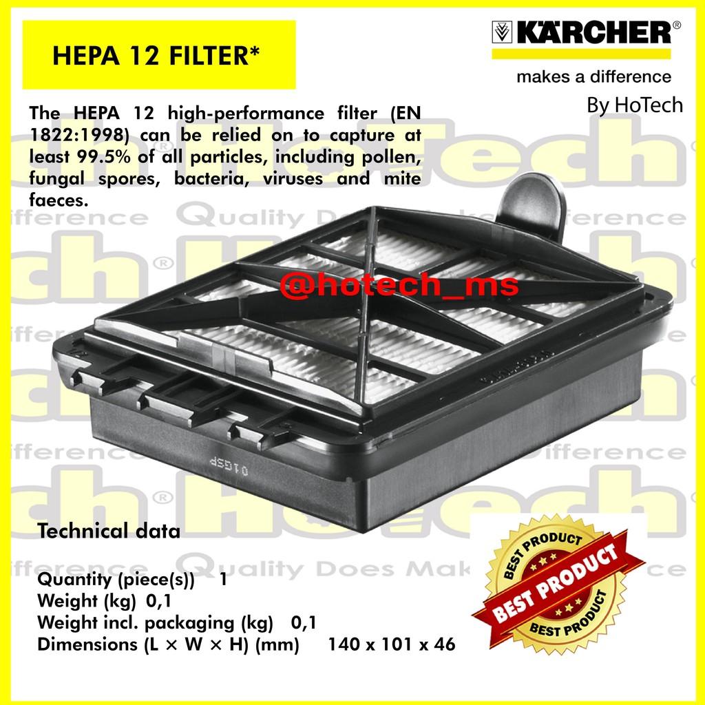 KARCHER HEPA 12 FILTER | Hepa Filter | Hepa 12 Filter For VC Series