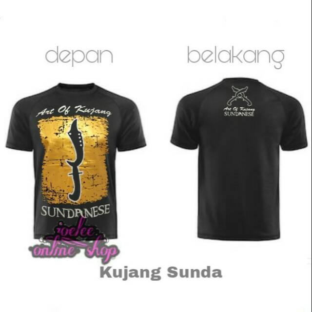 Kaos Sunda Keren The Art Of Kujang Sunda Sundanesse Distro Joelee