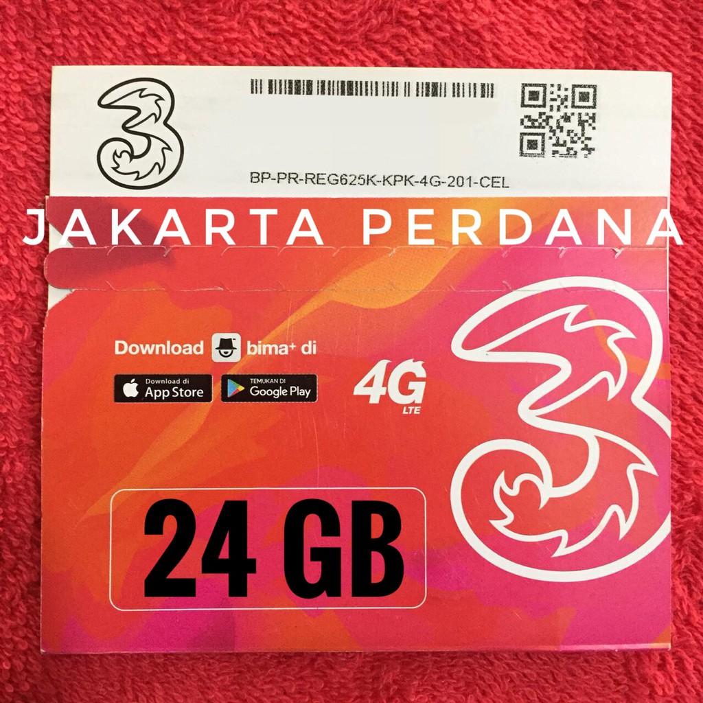 Perdana Tri Aon 35 Gb Kartu Kuota Internet Shopee Indonesia Three 3 10gb Reguler