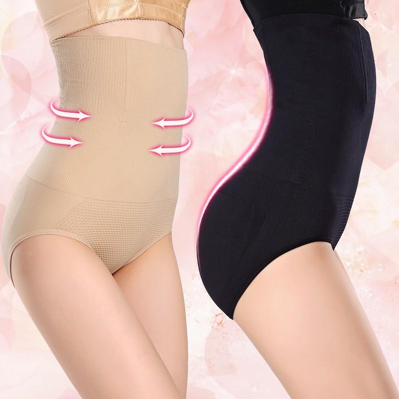Celana dalam Korset Rajut Seamless Model tinggi  344374b7d5