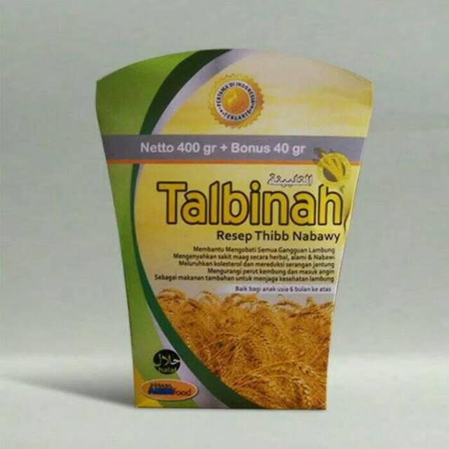 Tepung Talbinah 400gr 40 Gr Resep Thibb Nabawy Shopee Indonesia