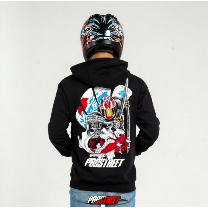 Hoodie Prostreet Ronin Samurai NEW Not kohaku Blood Flower