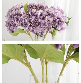 100 pcs kelopak buatan hydrangea bouquet bunga artificial