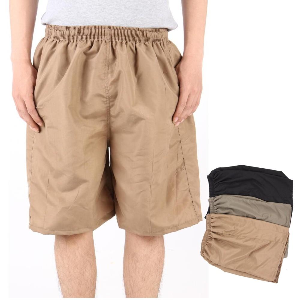 Paket 12 Pcs Celana Pendek Serba Polos Pinggang Karet Shopee 4 Pria Buat Nongkrong Gahul Warna Indonesia