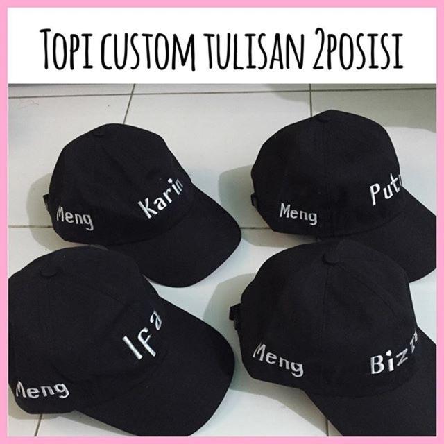 Topi Custom Bordir suka2 BEST QUALITY..!!  5e7541d8b6