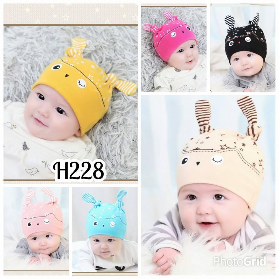 Topi kupluk Bayi Lucu Burung   Topi Bayi UNISEX  589dfdf058
