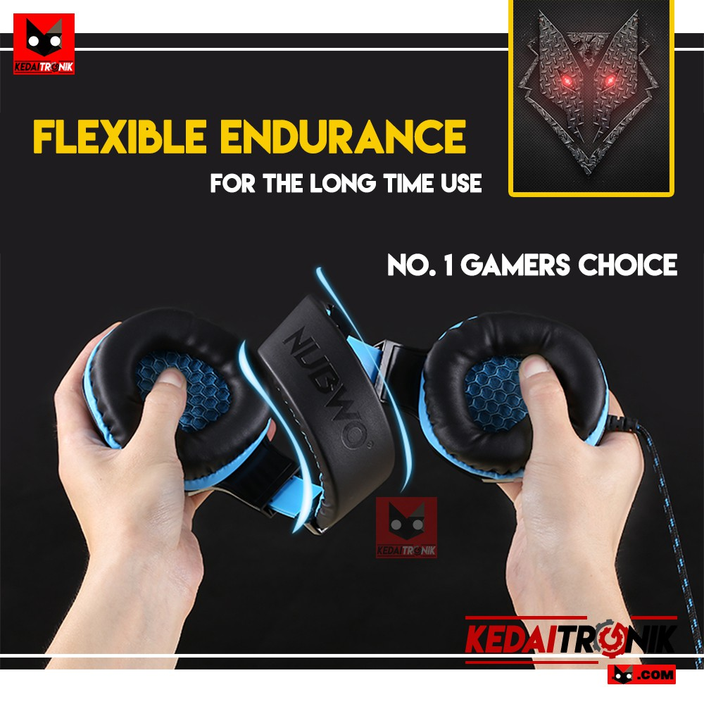 Dapatkan Harga Handset Gaming Diskon Shopee Indonesia Headset Keenion Kos 803 Headphone Original Blue