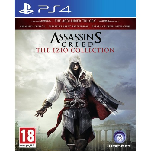 Ps4 Assassins Creed The Ezio Collection Shopee Indonesia