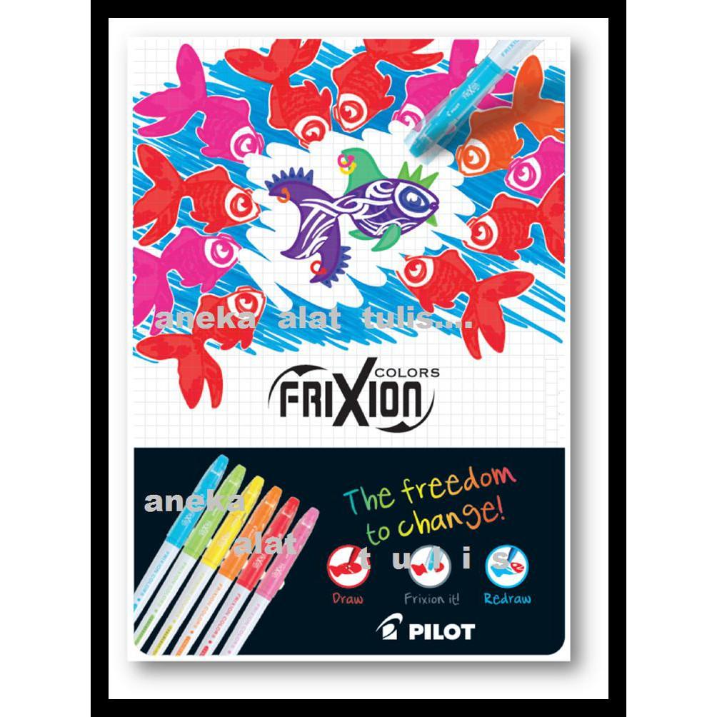 Pilot Pen Frixion Colors Navy Terlaris