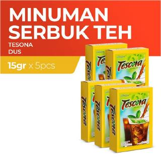 Tesona Iced Tea Dus 5 Sachet 15 g - Multi Pack
