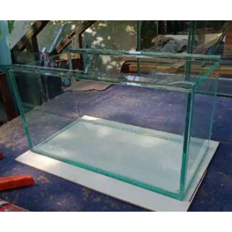 Aquarium Aquascape Custom P30xL15xT20 Soliter Cupang Guppy