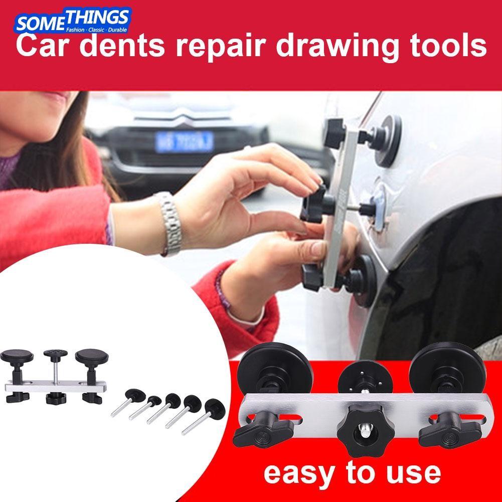 19pcs Set T Bar Hammer Glue Pads Car Auto Body Fairing Paintless Gym Pump Warna Moving Repair Shopee Indonesia