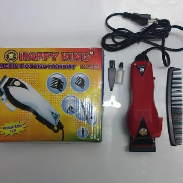 Mesin Alat Cukur Potong Pangkas Rambut Happy King Barber Hair Clipper -  Merah  ec2a109345