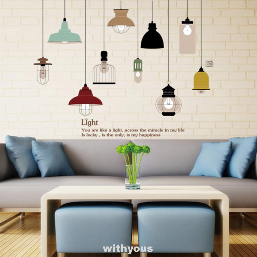 Decorative Wall Decal Art Mural Stickers Home Decor Diy Room Decoration Shopee Indonesia