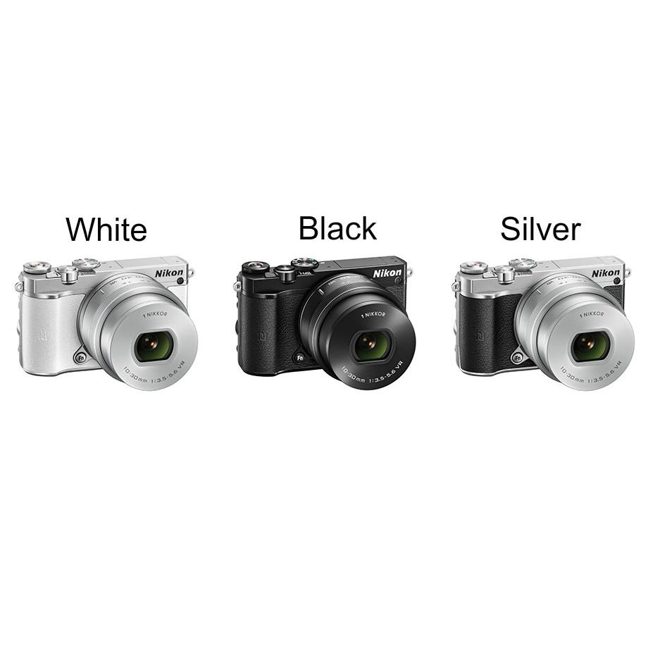 Nikon 1 J5 Kit 10 30mm Silver Kamera Mirorless Shopee Indonesia Mirrorless Paket