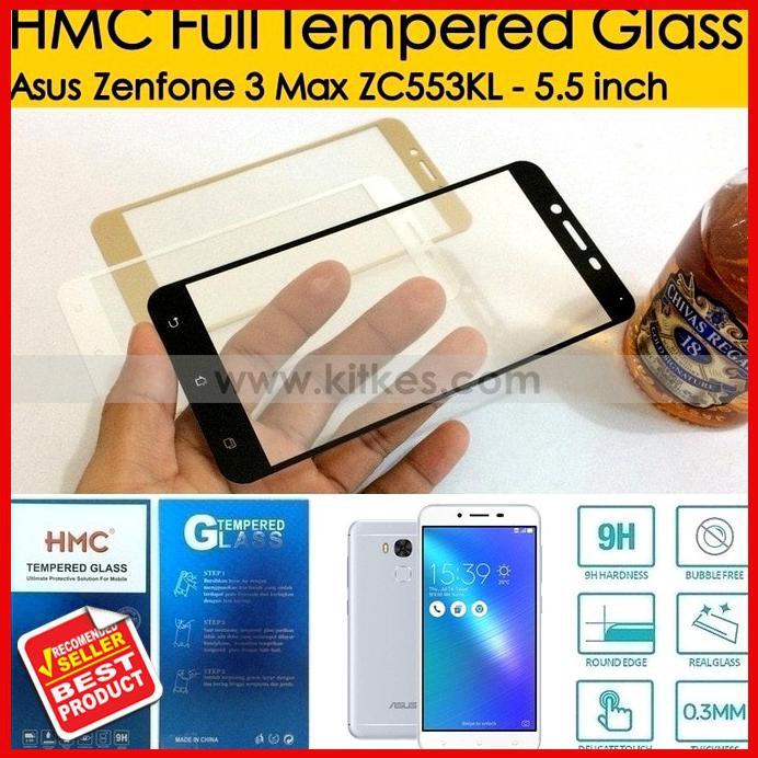 HMC Full Tempered Glass Asus Zenfone 3 ZE552KL - 5.5 inch | Shopee Indonesia