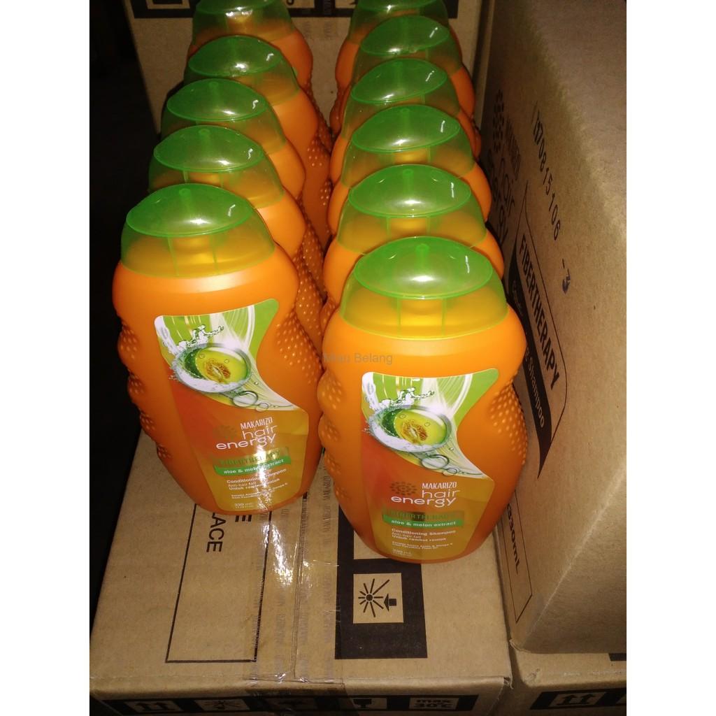 Makarizo Hair Energy Fibertherapy Conditioning Shampo Shampoo Sampo 500 Gr 330 Ml Aloe Ampamp Melon Extract 170ml Shopee Indonesia
