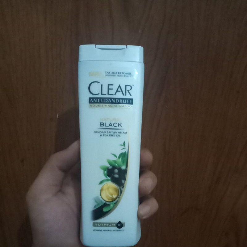 [Original] Shampoo Clear Anti Dandruff Sakura Fresh 170Ml-Natural black