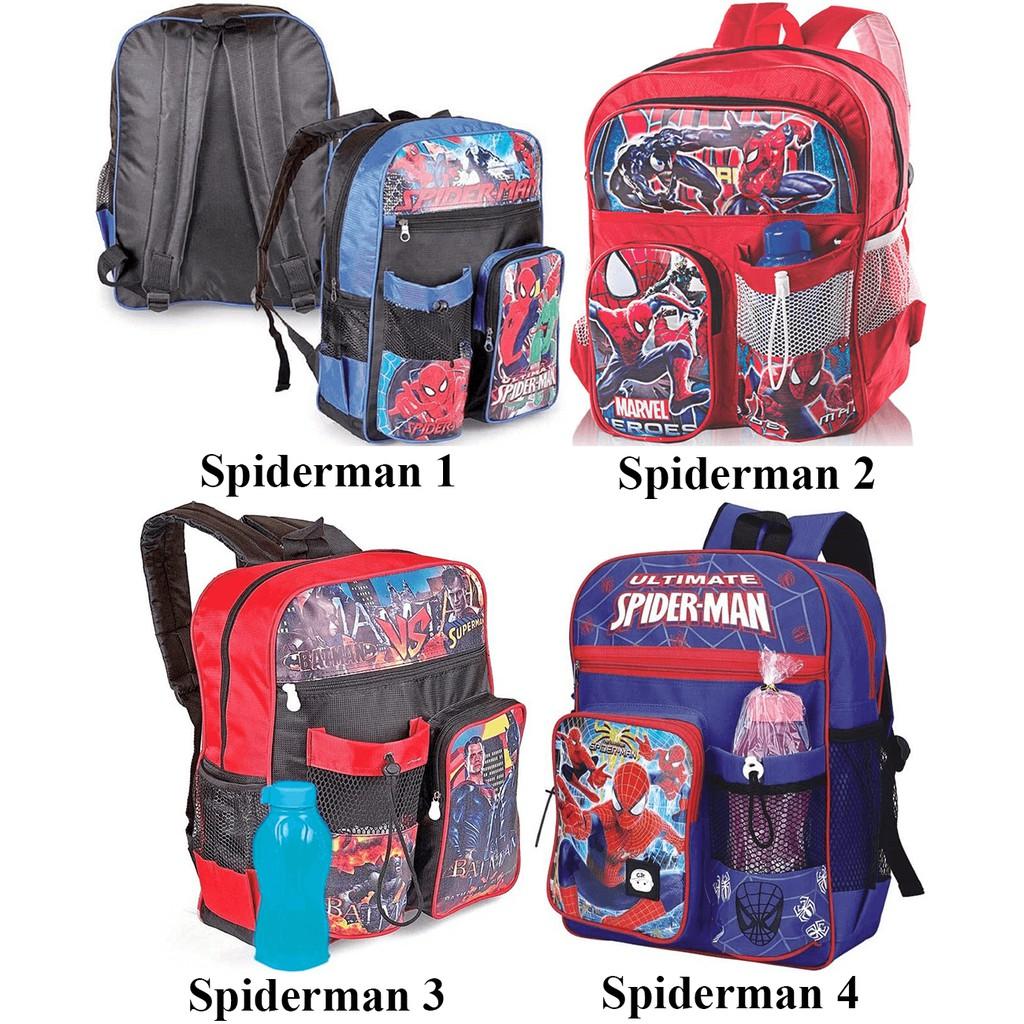 Tas Sekolah Anak Laki Backpack Cowok Ransel Cbr Six Dic 430 Keren Dinnir Hitam Superhero Shopee Indonesia