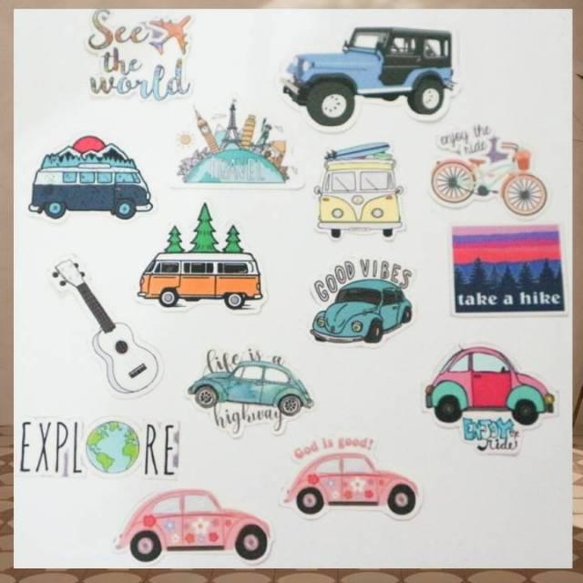 Sticker Aesthetic Travel Shopee Indonesia