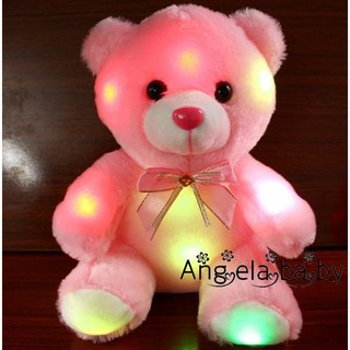 Ambiled Mainan Boneka Plush Beruang dengan Lampu LED Luminous untuk Hadiah  Anak ed6ae776f7