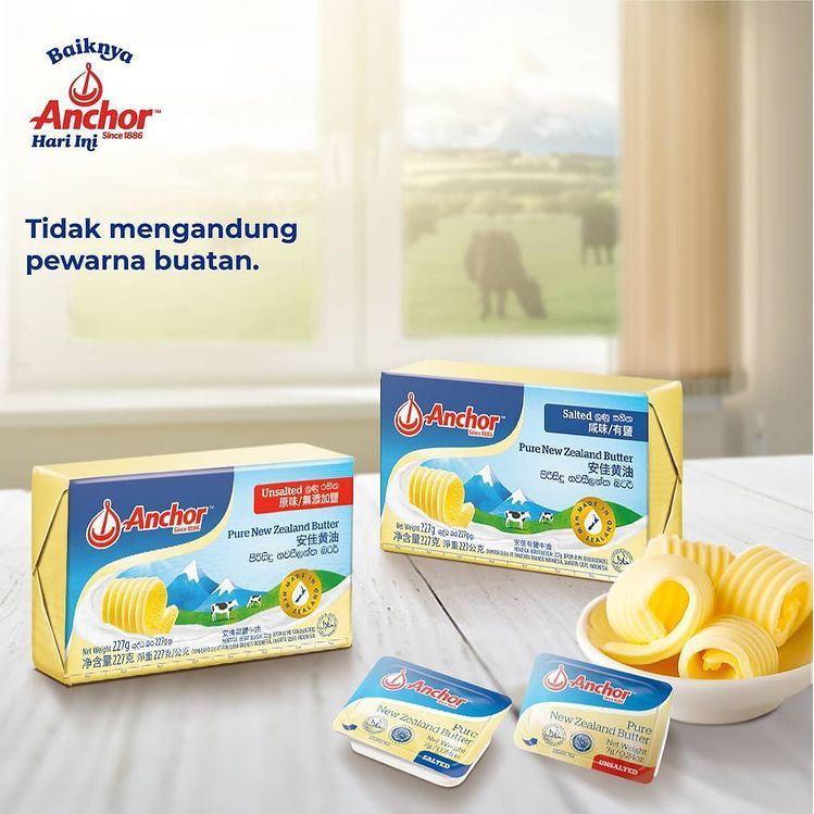 Anchor Unsalted Butter | Anchor Salted Butter | Butter Anchor