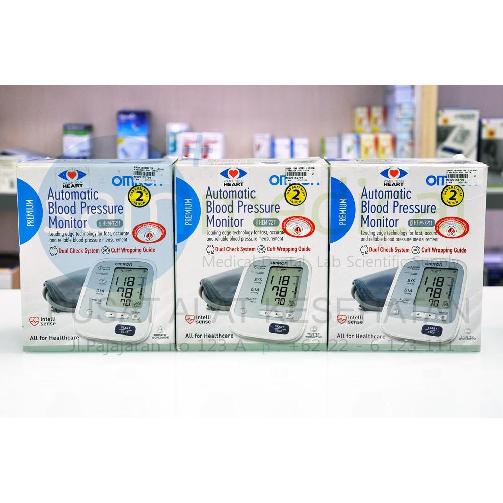 Tensimeter Digital Omron Hem 7211 Tekanan Darah Garansi Shopee Automatic Blood Pressure Monitor Indonesia
