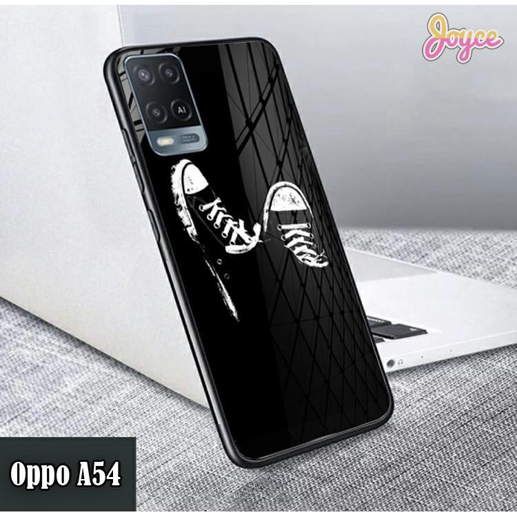 [CG88] Softcase Kaca Karakter Oppo Reno 5F A54 - Case Hp Oppo A54 - Kesing Hp Reno 5F - Casing Hp