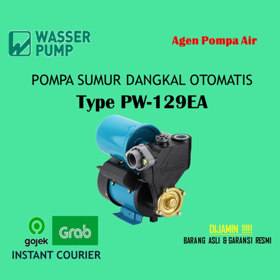 Mesin Pompa Air Sumur Dangkal Wasser PW 129 EA ( Shallow ...