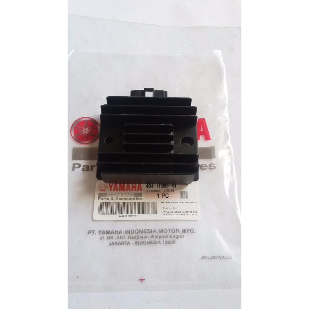 Kiprok Mio Gt Regulator M3 125 Rectifier R15 Ori Baru Murah Asli Shopee Indonesia
