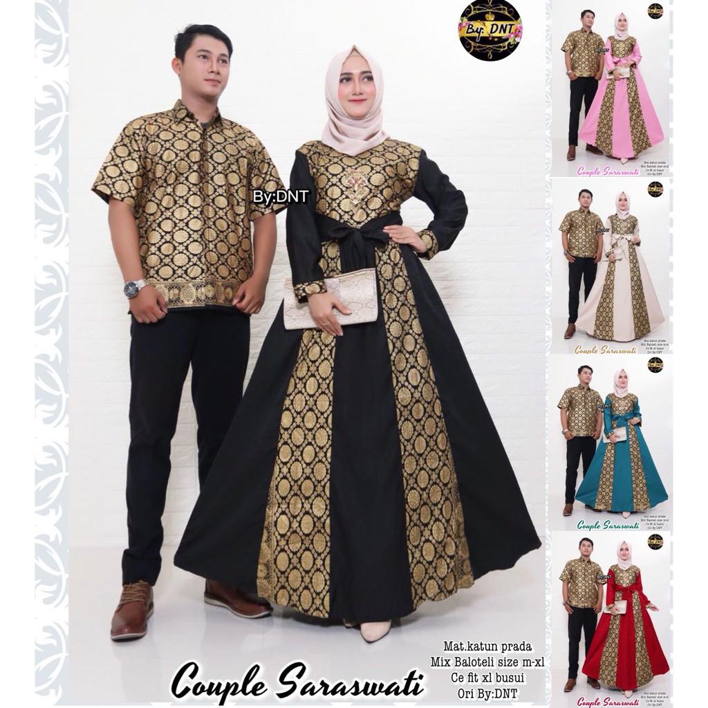 Zola_Batik Couple Gamis Saraswati - 9