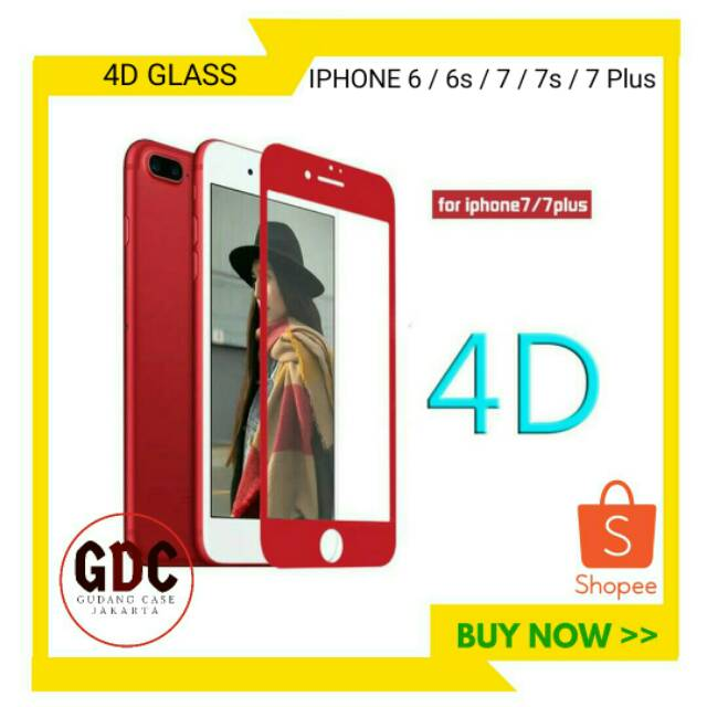 Iphone 6 / 6s / 6 Plus / 6s+ 5D 6D Full Cover Magic Glass Premium Tempered Glass | Shopee Indonesia