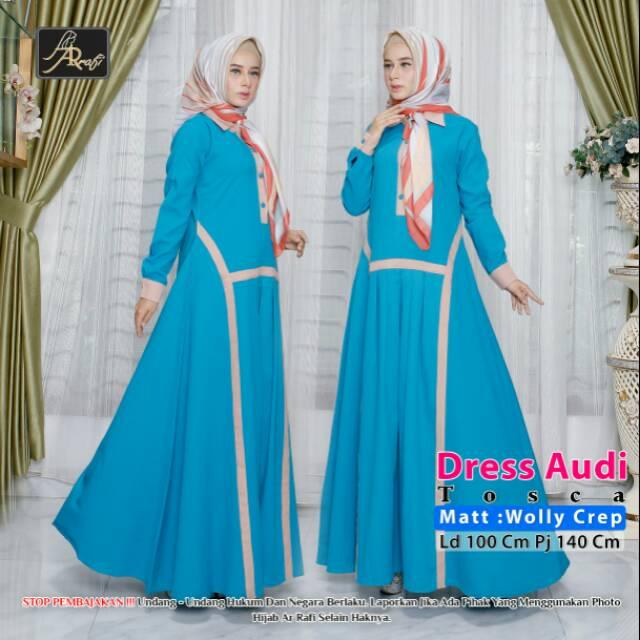 Audy Dress By Zakizakia Shopee Indonesia