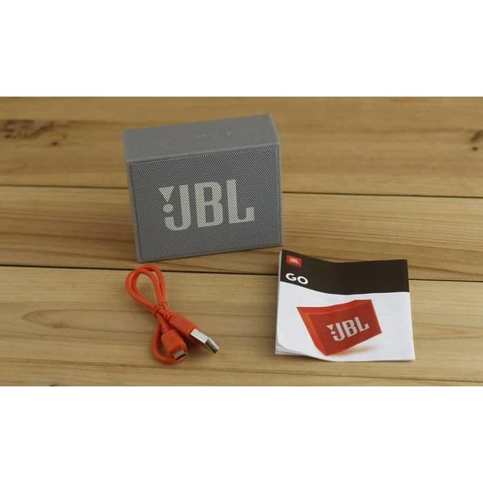 JBL GO PORTABLE BLUETOOTH SPEAKER MINI ORIGINAL - Hitam KEREN & MURAH