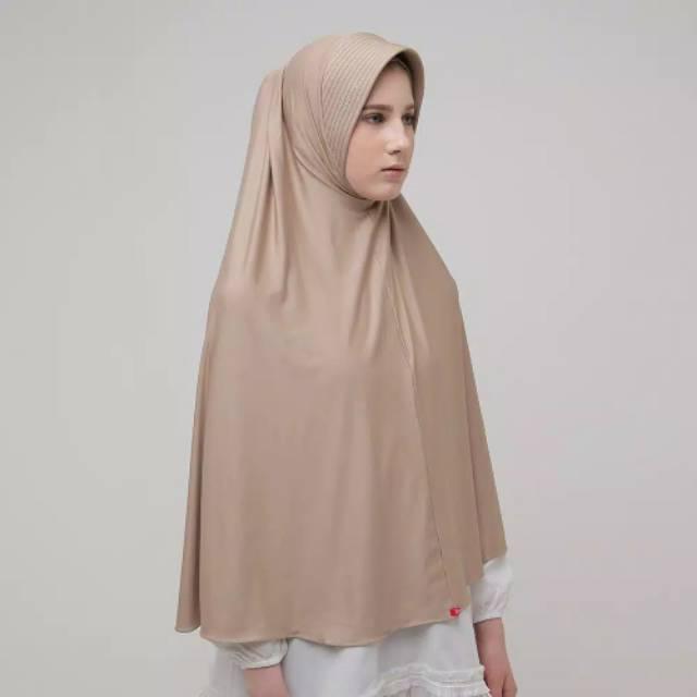Bergo Zoya Marsha Glittering Swarovski Jilbab Syari Shopee Indonesia