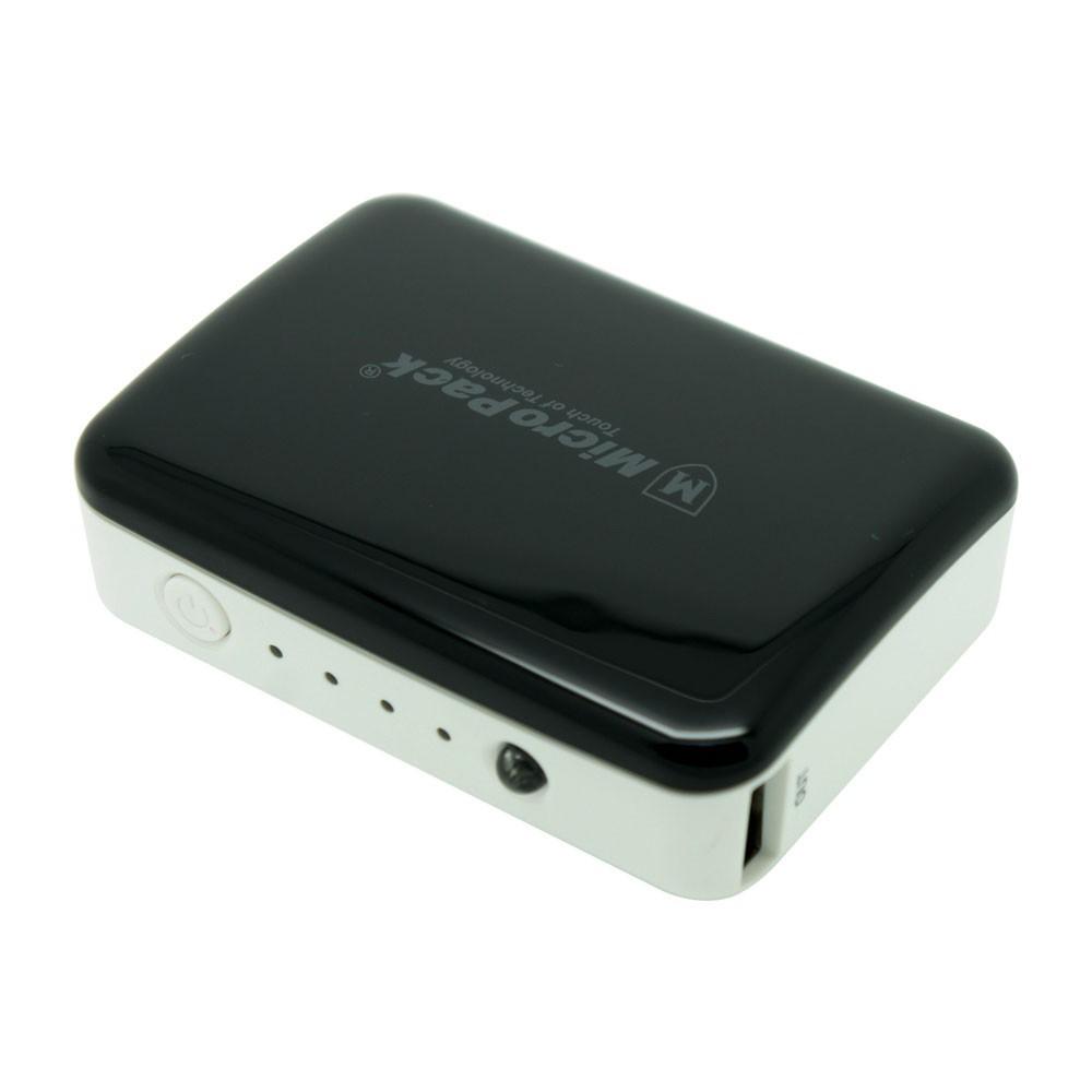 Power Bank Mini 6.000 mAh Li-ion Micropack P610PS Black