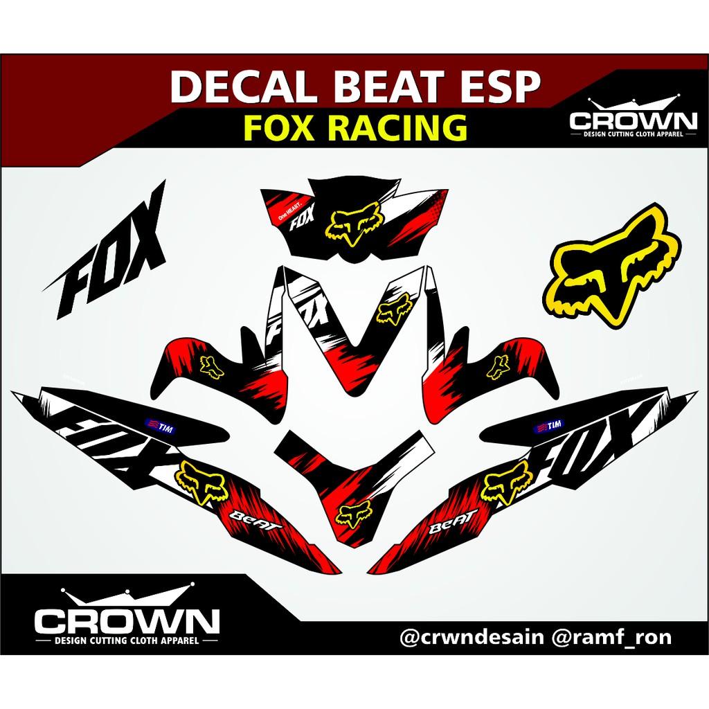 Stiker decal beat esp custom modified 1 shopee indonesia