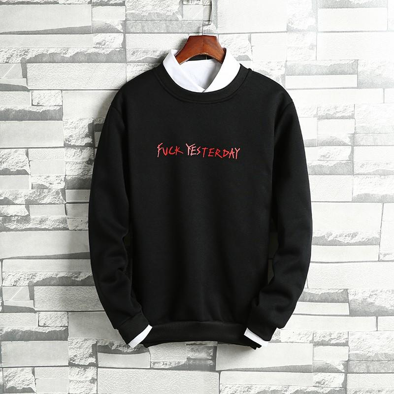 pa sweater pria versi Korea dari tren mahasiswa bf Harajuku gaya longgar ulzzang | Shopee Indonesia