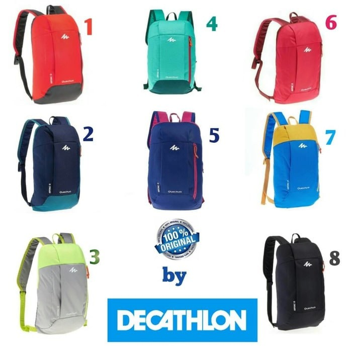 PROMO !!! Tas Ransel 10 L Decathlon Quechua Arpenaz 10 ORI