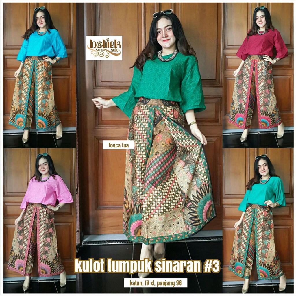Jual Murah Zizara Set Setelan Batik Celana Kulot Dan Blus Update Stelan 3 4 Print Spt001 14 Wanita Blouse Pesta Seragam Kondangan Shopee Indonesia
