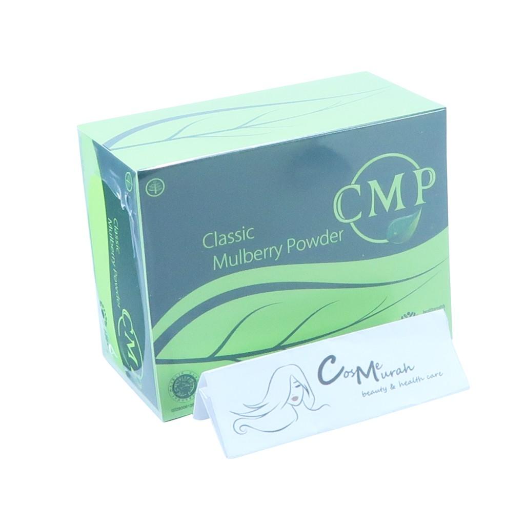 [BOX] CMP ( CLASSIC MULBERRY POWDER \ CHLOROPHYLL MINT POWDER ) isi 30sachet | Shopee Indonesia