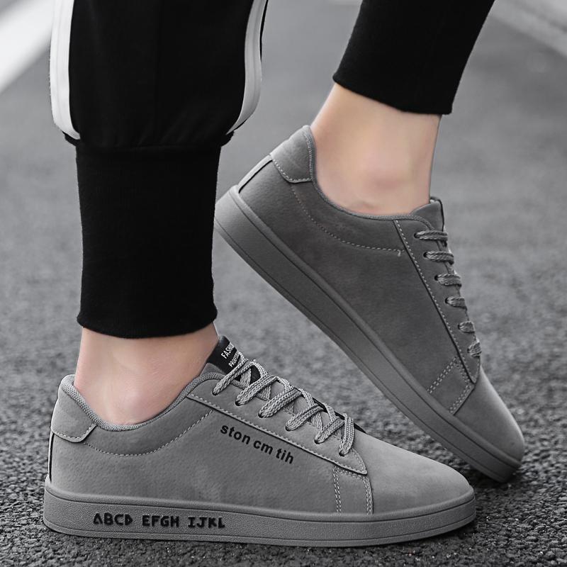 Sepatu Pria Sneakers Sepatu Kuliah Karet Pria Outdoor Rubber
