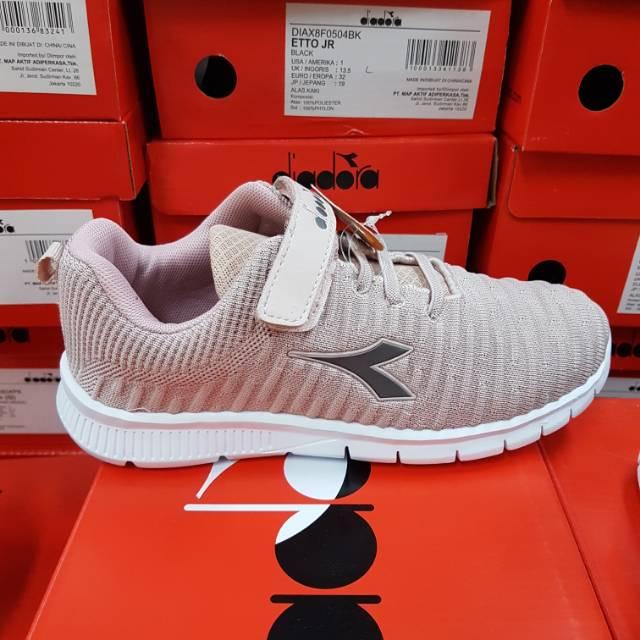 Sepatu Diadora Jarmain Anak Pink Original Bnib Shopee Indonesia