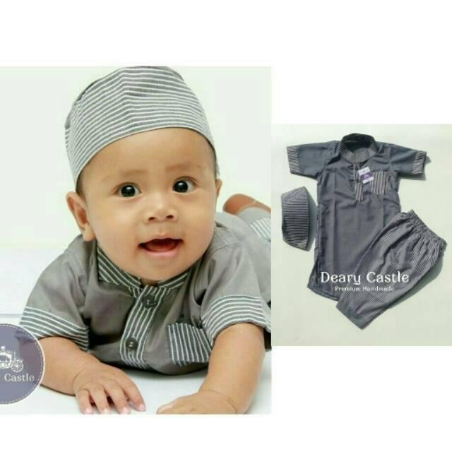 Baju Muslim Koko Gamis Anak Pria Laki 313 1sd12 Tahun Daftar Harga