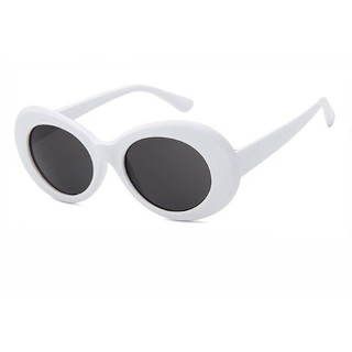 Vintage Aviator Clear Sunglasses AV800 BLK - Kacamata Pria dan Wanita -