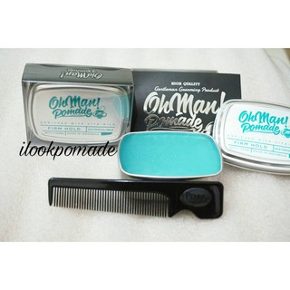 Pomade Oh Man! Nutri Blue | Divine Waterbased Pomade (Water Based)