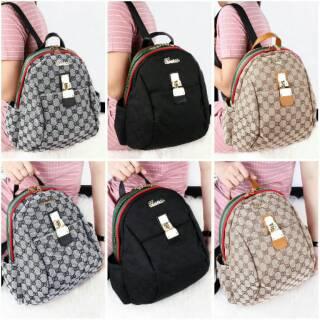 Restock Againnn# Limited# Best Seller Ever Gucci Backpack Gucci Elsa Measurement Backpack MT3588