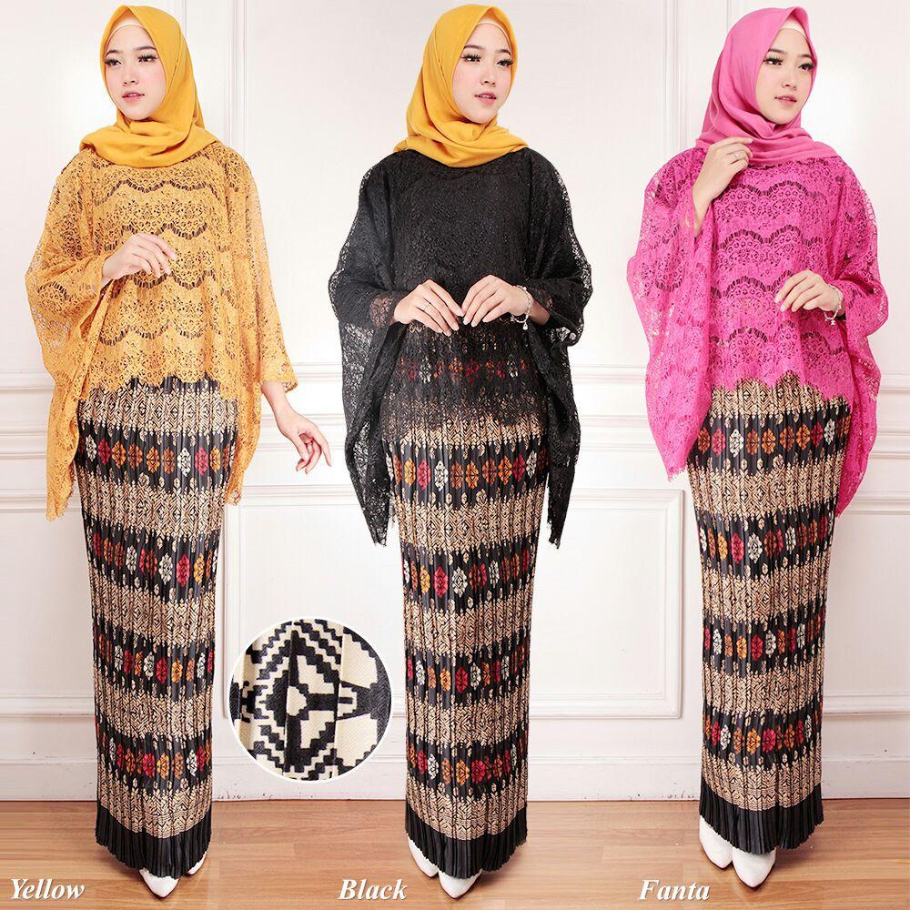 Model Kebaya Brukat Modern Muslimah Bestseller