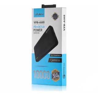 VIVAN VPB-A10S FAST CHARGING POWER BANK BLACK
